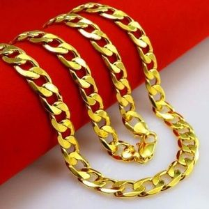 Other - Brand New 18k Gold Men's Chain Necklace